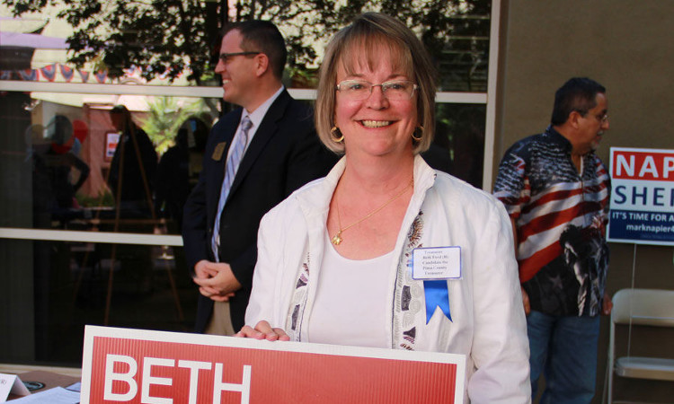 Beth Ford, Pima County Treasurer